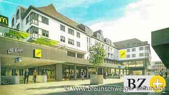 Neue Straße durch Braunschweigs Welfenhof