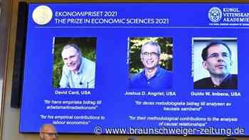 Wirtschaftsnobelpreis für Ökonomen in den USA