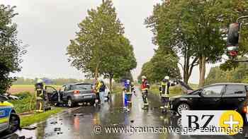 Doppeleinsatz in Vechelde: Autounfall und defekte Gasleitung