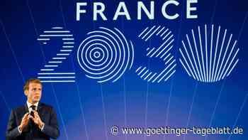 """Macron zückt das """"Scheckbuch Frankreichs"""" für Zukunftsinvestitionen"""
