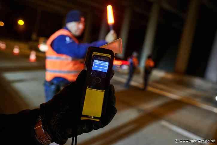 Vijf beschonken of gedrogeerde bestuurders zijn rijbewijs kwijt