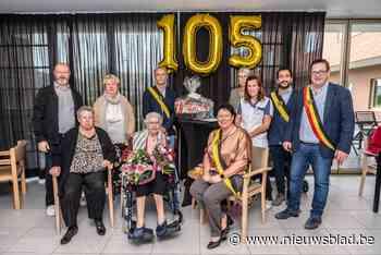 Elisabeth (105) viert haar verjaardag voor het eerst in woonzorgcentrum