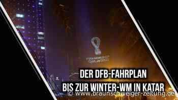 Der DFB-Fahrplan bis zur WM 2022 in Katar