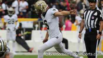 Saints putting Cody Parkey on injured reserve