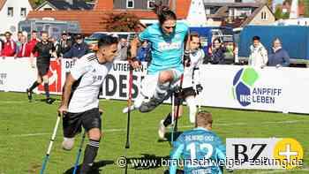 So begeistert sind Braunschweigs Amputierten-Kicker bei der Sache