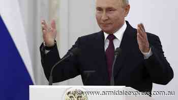 Protect Russians from inflation: Putin - Armidale Express