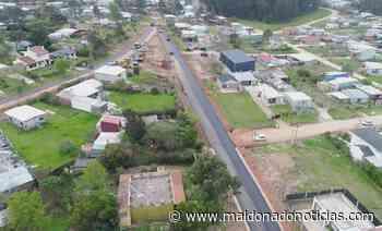 Avanzan obras de pavimentación, cordón cuneta y veredas en barrios de Maldonado - maldonadonoticias.com
