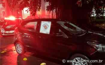Roubo em estacionamento de supermercado em Jaboticabal termina com homem preso - Rádio 101FM
