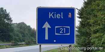 A 21 Richtung Kiel: Vollsperrungen ab Schackendorf nachts ab 12.10.2021 - Ahrensburg Portal