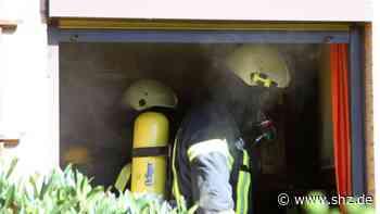 Frau bei Feuer verletzt: Missglückter Löschversuch setzt Küche in Ahrensburg Brand   shz.de - shz.de