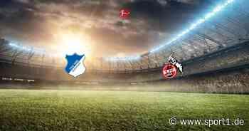 Bundesliga: TSG 1899 Hoffenheim – 1. FC Köln (Freitag, 20:30 Uhr) - SPORT1