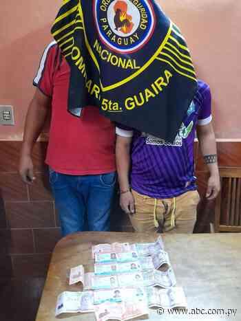 Detienen a dos personas por retener cédulas en Villarrica - ABC Color