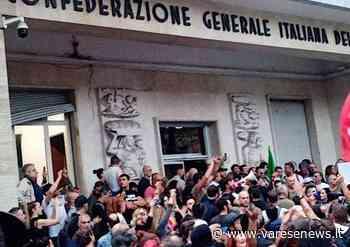 Il Pd e Partecipare sempre vicini alla Cgil di Tradate dopo le violenze a Roma da parte di No green pass e neofascisti - varesenews.it