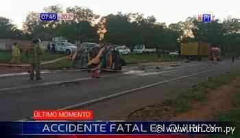 Capitana de bomberos muere en accidente en Quiindy - Resumen de Noticias