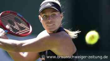 Kerber beim Masters in Indian Wells im Viertelfinale