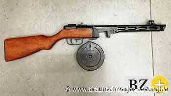 Maschinenpistole bei Wolfsburger Militaria-Sammler sichergestellt
