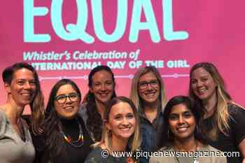 Whistler's International Day of the Girl tackles gender equality in sports - Pique Newsmagazine
