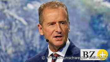 Bericht: VW-Chef Diess spricht von drastischem Stellenabbau