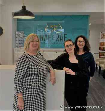 Rae & Rae Independent Opticians are finalists in Optician Awards   York Press - York Press
