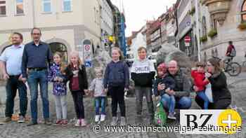 Stadtrallye: Kinder kennen sich gut aus in Helmstedt