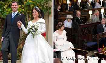 Princess Eugenie: Front row seat at wedding was left empty to comply with royal protocol