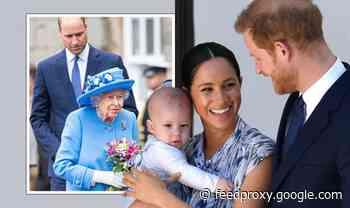 Royal Family LIVE: Meghan and Harry dealt urgent warning over Lilibet christening