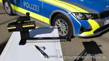 Auto und Laster streifen sich in Krumbach - Augsburger Allgemeine
