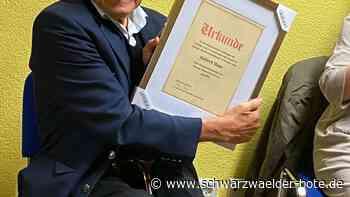 Schramberg: Donum Vitae – eine Ära endet - Hubert Haas jetzt Ehrenvorsitzender - Schwarzwälder Bote