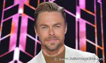 Derek Hough suffers wardrobe malfunction with incredible new DWTS look