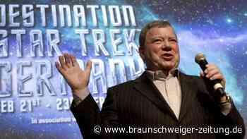 """""""Star Trek""""-Schauspieler William Shatner ins All geflogen"""