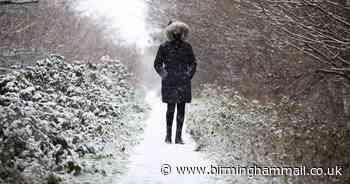 Exact date snow set to hit UK in October changes - Birmingham Live
