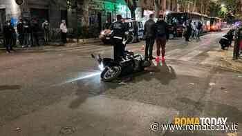Incidente a Torpignattara: vigilessa investita da uno scooter sulle strisce pedonali