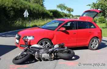 Motorradfahrer und Sozia bei Unfall verletzt - Passauer Neue Presse