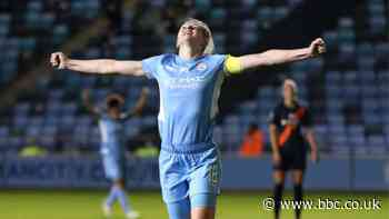 Women's Continental League Cup: Man City score five as Liverpool beat Villa in group-stage opener