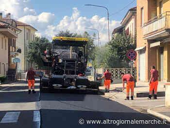 """Iniziati oggi i lavori lungo la 423 """"Pesaro - Urbino"""" nel tratto della Provincia - AltrogiornaleMarche"""