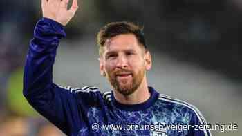 Falscher Name: Kleiner Fußballfan bittet Messi um Verzeihung