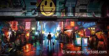 Lost Judgment London mural captured Kamurocho's neon nightlife - Destructoid