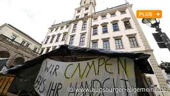 Stundenlange Debatte: Klimaaktivisten gehen mit Stadt auf Konfrontationskurs - Augsburger Allgemeine