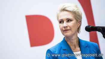 Neuauflage von Rot-Rot in MV: Schwesig beginnt Koalitionsverhandlungen