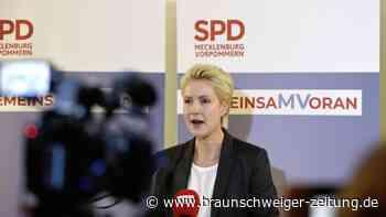 Mecklenburg-Vorpommern: Schwesig will mit Linken regieren