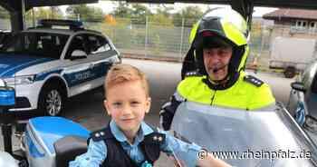 Sechsjähriger Fan besucht Polizei in Landau - Landau - DIE RHEINPFALZ - Rheinpfalz.de