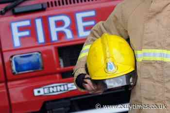 Dozens of firefighters tackle fire on Pilsworth Road, Bury