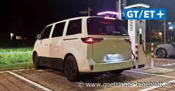 Erwischt: ID.Buzz in Leichttarnung in Wolfsburg gesichtet