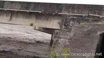 VIDEO IMPACTANTE | Así colapsó puente del río Guache, sentido Acarigua - Caraota Digital