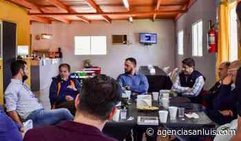 Sebastián Lavandeira se reunió con empresarios de Villa Mercedes que operan en la ZAL - Agencia de Noticias San Luis