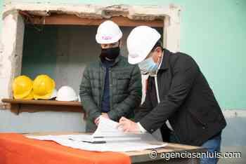 Están en marcha las obras para el Centro Cívico de Villa Mercedes - Agencia de Noticias San Luis