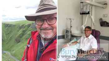 Suffolk grandfather has life saved by immunotherapy trial - Bury Mercury