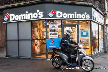 Domino's sets out plan to hire 8000 drivers - Bury Times