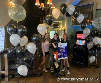 Staff tackle 300 mile cycling 'pub crawl' to support food banks - Bury Times
