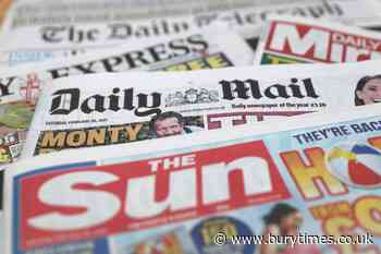 What the papers say – October 14 | Bury Times - Bury Times